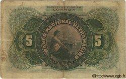 5000 Reis ANGOLA  1909 P.031