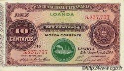 10 Centavos ANGOLA  1914 P.039 SPL