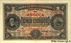 5 Escudos ANGOLA  1921 P.057 SUP