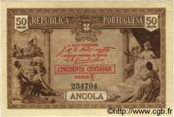 50 Centavos ANGOLA  1923 P.063 SPL