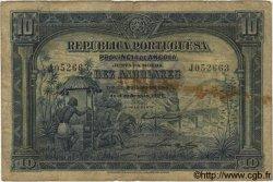 10 Angolares ANGOLA  1926 P.067 B+