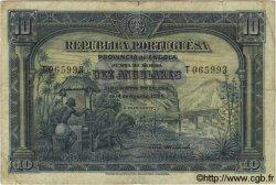 10 Angolares ANGOLA  1926 P.067 TB