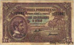2,5 Angolares ANGOLA  1942 P.069 pr.TB