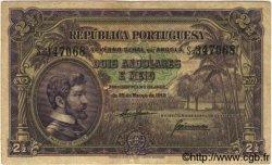 2,5 Angolares ANGOLA  1942 P.069 TB+