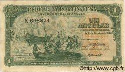 1 Angolar ANGOLA  1948 P.070 pr.TTB