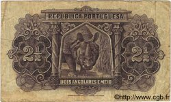 2,5 Angolares ANGOLA  1948 P.071 B+ à TB
