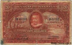 20 Angolares ANGOLA  1927 P.072 B+