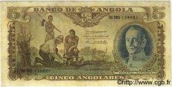 5 Angolares ANGOLA  1947 P.077 TTB