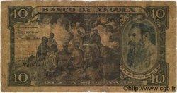 10 Angolares ANGOLA  1947 P.078 AB