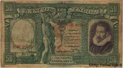 50 Angolares ANGOLA  1944 P.080 B à TB