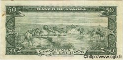 50 Escudos ANGOLA  1956 P.088 TTB