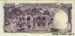 100 Escudos ANGOLA  1956 P.089 TTB