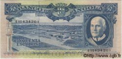 50 Escudos ANGOLA  1962 P.093 pr.NEUF