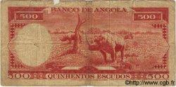 500 Escudos ANGOLA  1962 P.095 B+