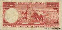 500 Escudos ANGOLA  1962 P.095 TB