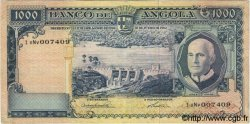1000 Escudos ANGOLA  1962 P.096 TB à TTB