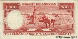 500 Escudos ANGOLA  1970 P.097 SUP
