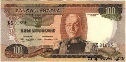 100 Escudos ANGOLA  1972 P.101 TTB