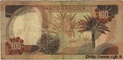 100 Escudos ANGOLA  1972 P.101 SUP