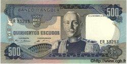 500 Escudos ANGOLA  1972 P.102 NEUF