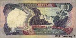 1000 Escudos ANGOLA  1972 P.103 TTB