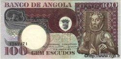 100 Escudos ANGOLA  1973 P.106 SUP+