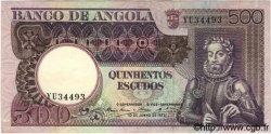 500 Escudos ANGOLA  1973 P.107 NEUF
