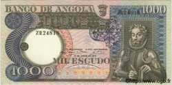 1000 Escudos ANGOLA  1973 P.108 SUP