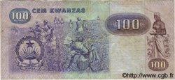 100 Kwanzas ANGOLA  1984 P.119 TB