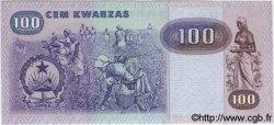100 Kwanzas ANGOLA  1984 P.119