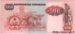 500 Kwanzas ANGOLA  1984 P.120a pr.NEUF
