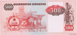 500 Kwanzas ANGOLA  1987 P.120b SPL