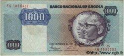1000 Kwanzas ANGOLA  1987 P.121b TTB