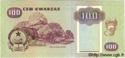 100 Kwanzas ANGOLA  1991 P.126 SPL+