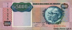 5000 Kwanzas ANGOLA  1991 P.130c TTB+