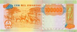 100000 Kwanzas ANGOLA  1991 P.133x SUP