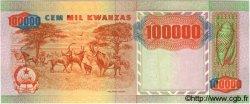 100000 Kwanzas ANGOLA  1991 P.133x NEUF