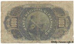 1000 Reis CAP VERT  1909 P.04a B