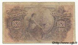 20 Centavos CAP VERT  1914 P.15 TB