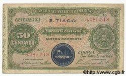 50 Centavos CAP VERT  1914 P.16 TB