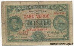 1 Escudo CAP VERT  1921 P.32