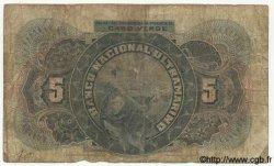 5 Escudos CAP VERT  1921 P.34 AB
