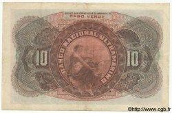 10 Escudos CAP VERT  1921 P.35 TTB+