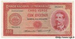 100 Escudos CAP VERT  1958 P.49 TTB