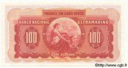 100 Escudos CAP VERT  1958 P.49 pr.NEUF