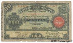 1000 Reis GUINÉE PORTUGAISE  1909 P.001 AB