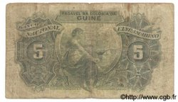 5 Escudos GUINÉE PORTUGAISE  1944 P.025 B