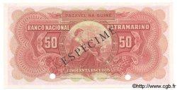 50 Escudos GUINÉE PORTUGAISE  1958 P.037s NEUF