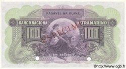100 Escudos GUINÉE PORTUGAISE  1958 P.038s NEUF