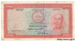 1000 Escudos GUINÉE PORTUGAISE  1964 P.043a TB